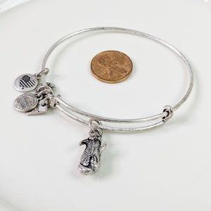 Alex and Ani R. Silver Charity Otter Bracelet